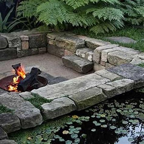 sunken backyard pit 23 simply impressive sunken sitting areas for a