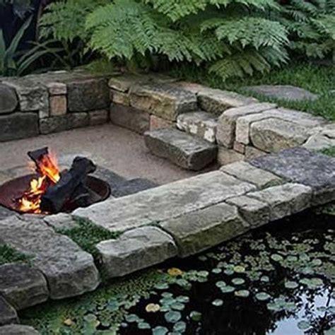 sunken backyard fire pit 23 impressive sunken design ideas for your garden and yard