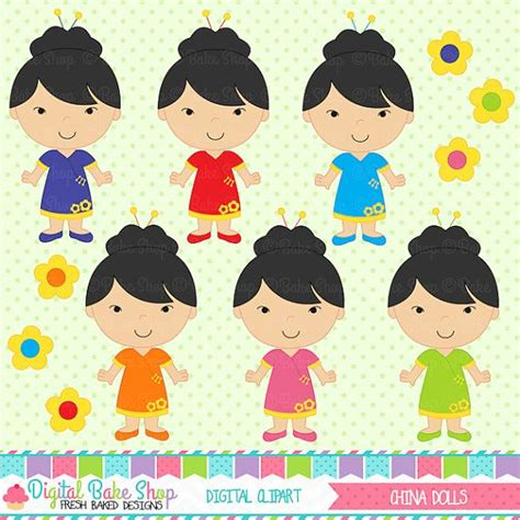 china doll kl china doll clipart 33