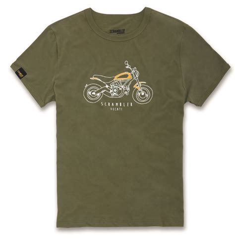 Tshirt Monochrome The Scrambler ducati scrambler scr heritage t shirt s sleeve