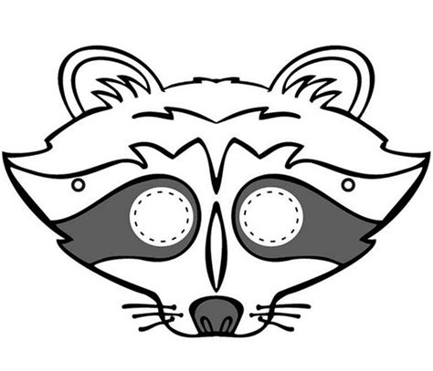 printable nocturnal animal masks 64 free kids face masks templates for halloween to print