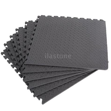 Workout Floor Mats - 60 60cm floor mat interlocking foam exercise