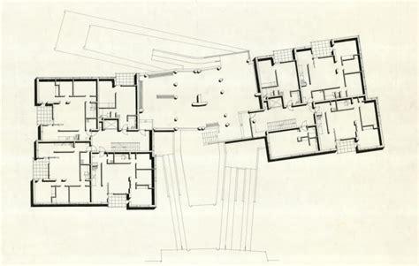alvar aalto floor plans hansaviertel apartment house 183 architecture navigator