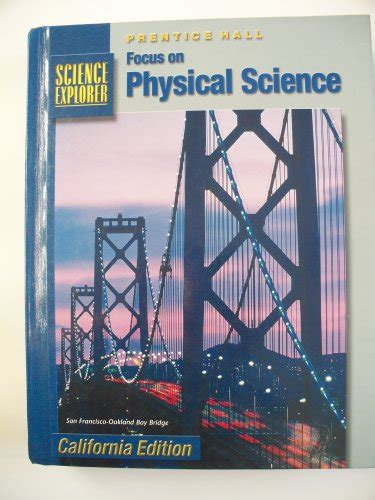 cã rtoga edition books focus on physical science california edition prentice