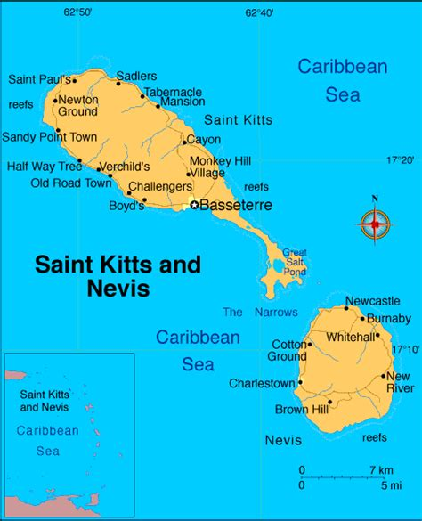 st kitts and nevis map trip memory kitts and nevis the