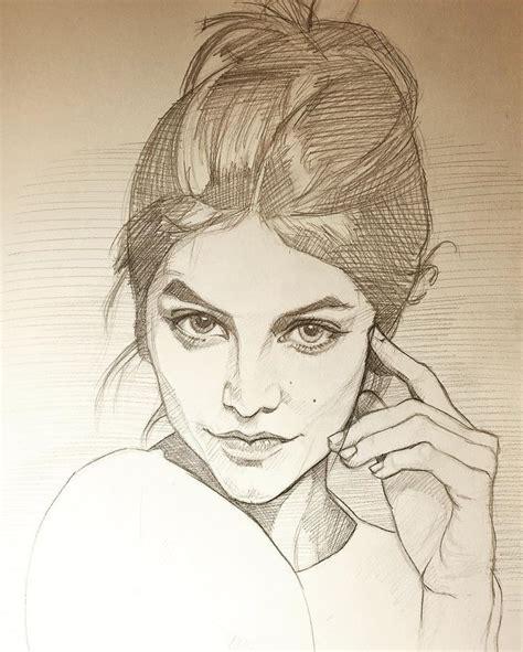best sketch 25 best ideas about portrait sketches on