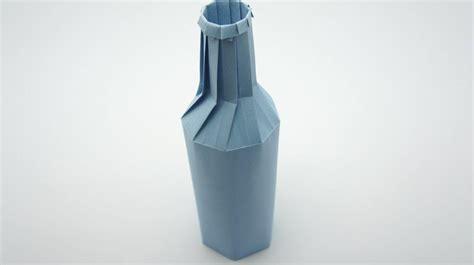 Bottle Origami - origami bottle remake jo nakashima
