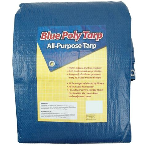 sigman 20 ft x 35 ft blue tarp bpf020035 the home depot