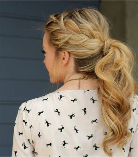 Wedding Hairstyles Ponytail Updos by 25 Best Ideas About Side Ponytail Hairstyles On