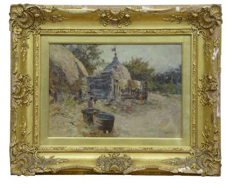 rob antiques robert mcgregor genre painting of