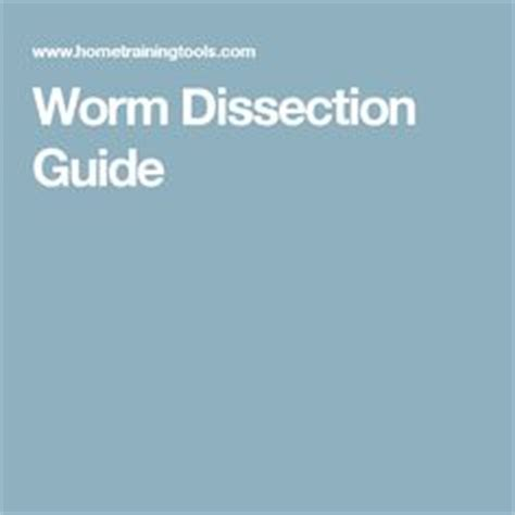 earthworm dissection guide 1000 images about dissections on earthworms fish anatomy and anatomy