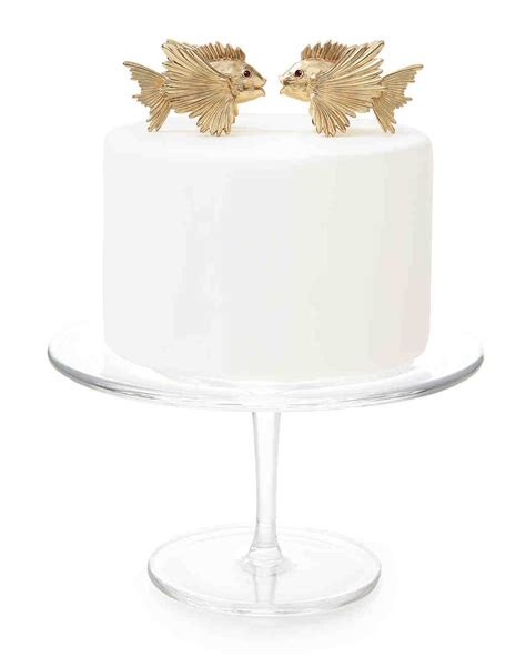 Wedding Cake Tops by 25 Unique Wedding Cake Toppers Martha Stewart Weddings