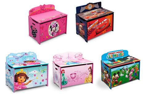 Toys Box 5 delta children deluxe box disney pixar