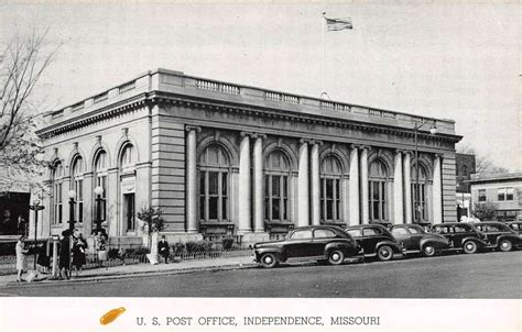 Post Office Independence Mo independence missouri post office view antique