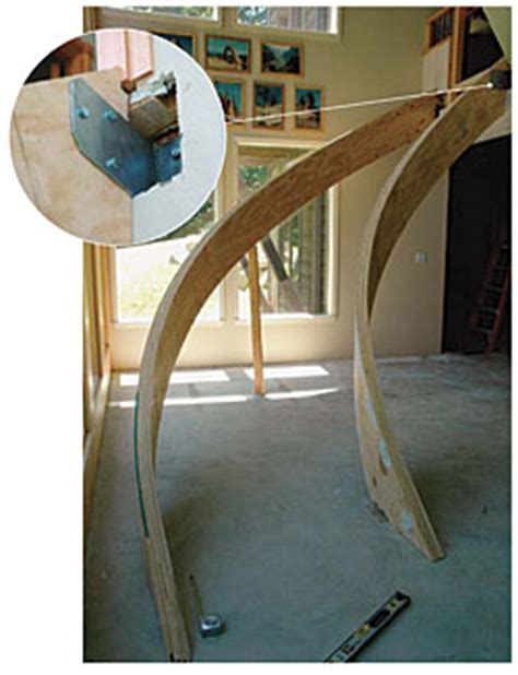 Laminating Curved Stair Stringers   Fine Homebuilding