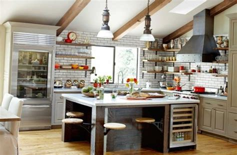 Kitchen Table Island Ideas excellent kitchen in the industrial style my sweet house