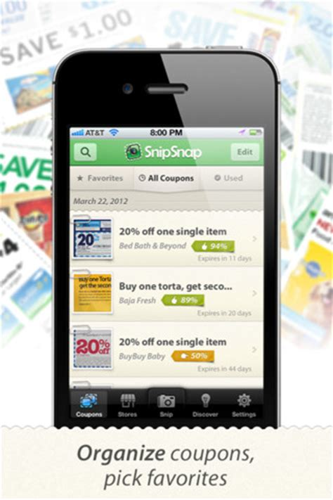 snip snap for android snipsnap coupon app 100 target gift card giveaway southern savers