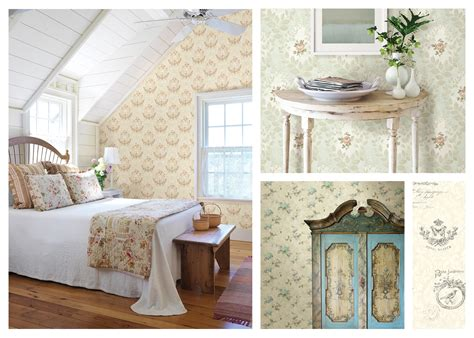 cottage style wallpaper 5 steps to country cottage style brewster home