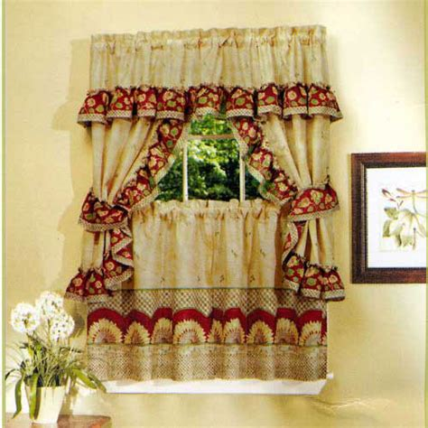 kitchen curtains country kitchen curtains