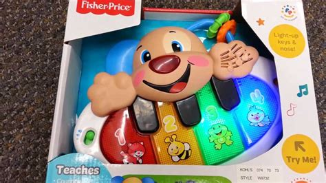 fisher price puppy piano fisher price laugh and learn puppy s piano