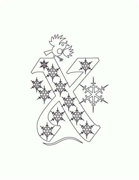 christmas alphabet coloring pages coloring home