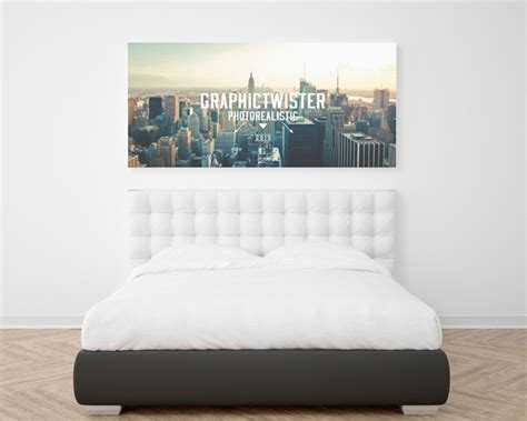 wall bed frame 50 beautiful stylish free psd frame poster mockups for