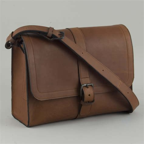 Handmade Leather Uk - handmade leather satchels uk large satchel henry tomkins