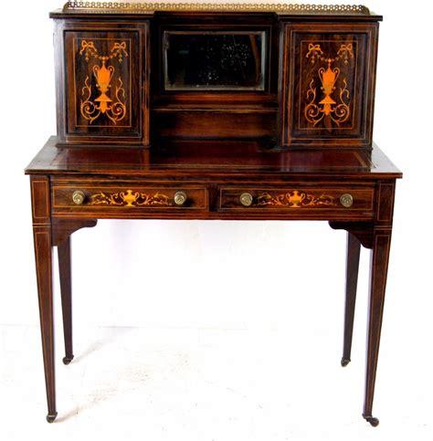 inlaid rosewood desk c 1890 la45436 loveantiques