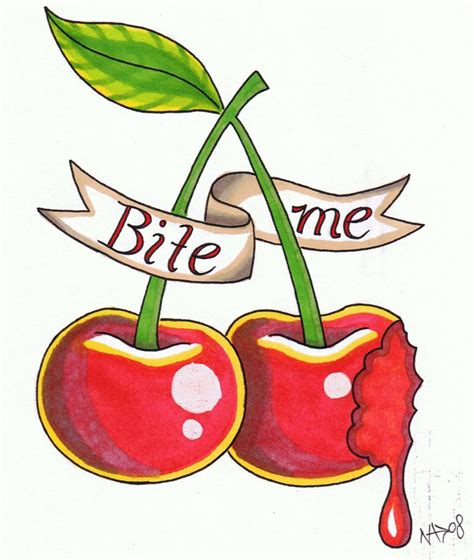 cherry tattoo designs 10 cherry designs ideas