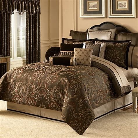 waterford bedding waterford 174 linens lansing comforter bed bath beyond