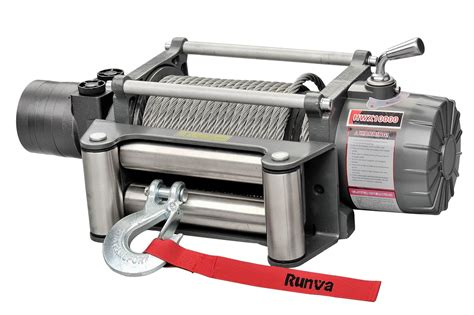 Winch Runva Ewg 10 000 hwx12000 12v with steel cable