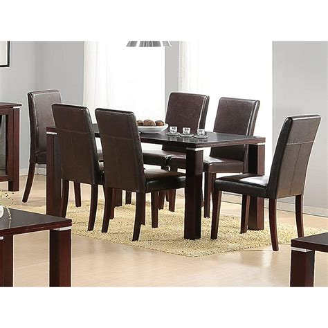 spartan dining table and 6 chairs forever furnishings