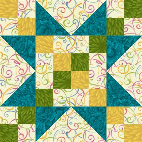 Sawtooth Quilt Pattern by 12 Quot Frayed Sawtooth Quilt Block Pattern