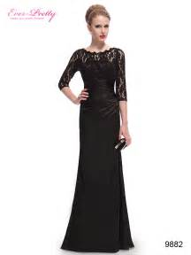 best long black dress for every woman iris gown