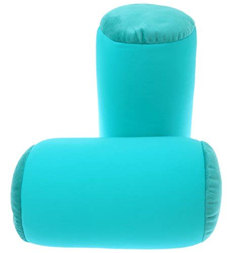 microbead cushie roll pillow with soft plush ends ebay microbead pillow neck roll bolster pillows 85 nylon
