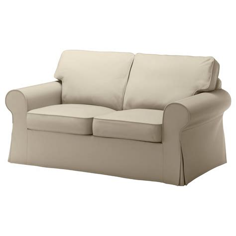 Slipcovers For Loveseat ikea ektorp cover loveseat 2 seat sofa cover tygelsjo beige slipcover 702 545 88 ebay