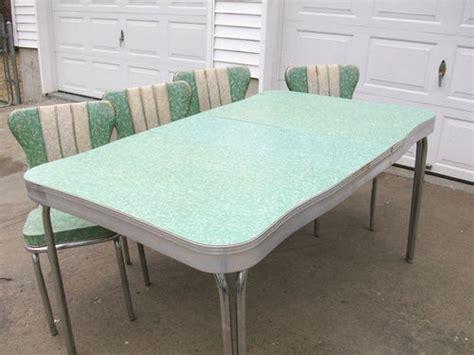 details about 1950 s retro formica chrome kitchen table