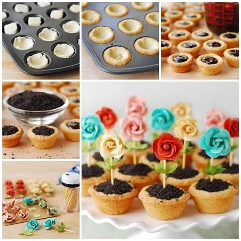 flower food diy diy flower pot cookies recipe pictures photos and images