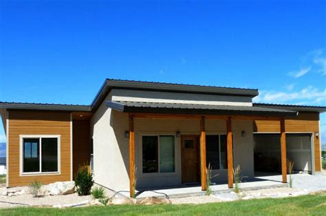 prefabricated home kit zip kit homes are efficient streamlined prefab houses out of utah zipkit homes inhabitat