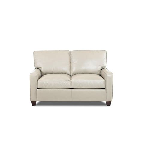 Comfort Designs Furniture by Comfort Design Cp4035 Ls Ausie Leather Stationary Loveseat