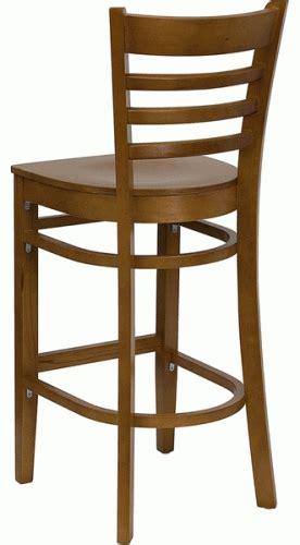 cherry wood bar stool ladder back