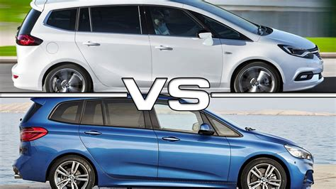 opel bmw opel zafira tourer vs bmw 2 series gran tourer