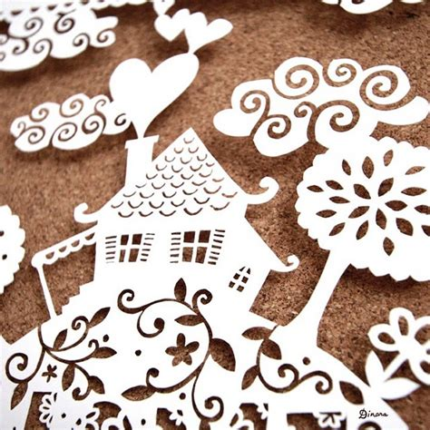 138 Best Paper Cut Images - 78 best paper cutting templates images on
