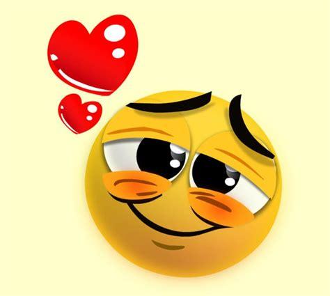 imagenes emoji enamorado emoticono enamorado imagui