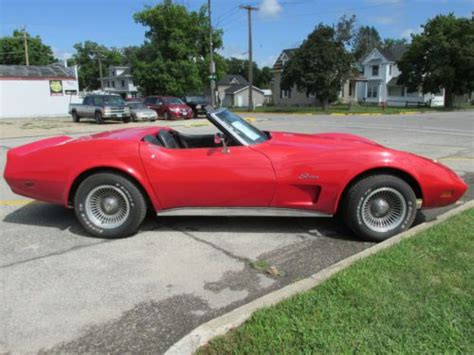 used corvette engine purchase used 1974 corvette convertible with 406 engine