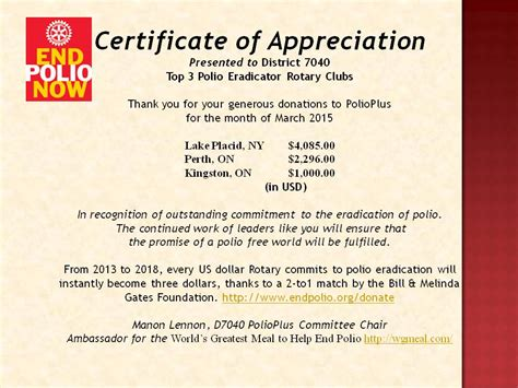 rotary certificate of appreciation template stories district 7040