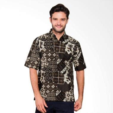Baju Batik Pria Model Kemeja Slimfit Harga Terjangkau Bagus jual adiwangsa model modern slim fit baju kemeja batik pria 017 harga kualitas