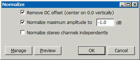 high pass filter dc offset あちゃぴーの自転車通勤 audacity effect menu エフェクト part2