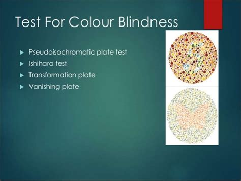 causes of color blindness color blindness powerpoint