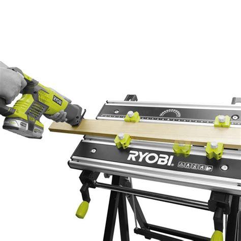 ryobi work bench ryobi rwb03 foldable metal workbench